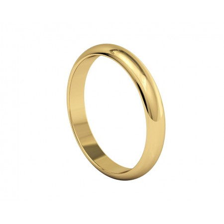ATENEA Yellow Gold Wedding Alliance