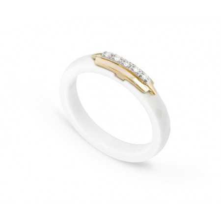 Anillo Diamantes y Cerámica CERAMIC RING