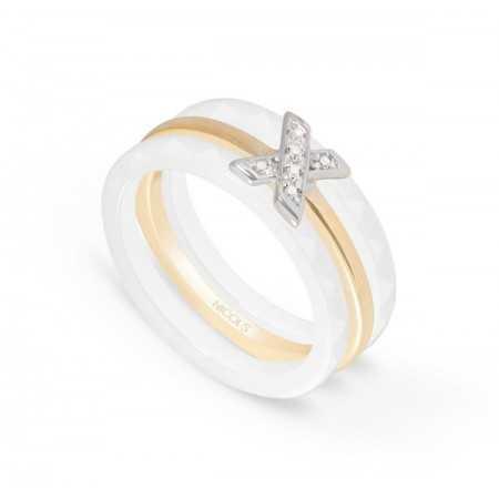 Anillo Diamantes Cerámica CERAMIC RING