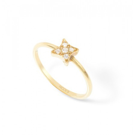 Anillo de Diamantes Estrella MINI DETAILS STAR
