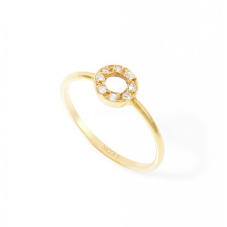 Anillo Circulo Brillantes DETAIL