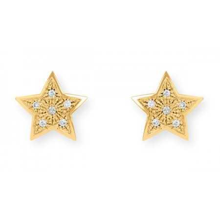 Pendientes Estrella MINI DETAILS 0.25ct