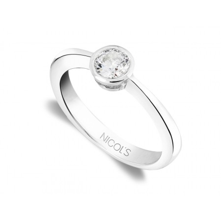 Anillo de Pedida Solitario LADY 0.25ct