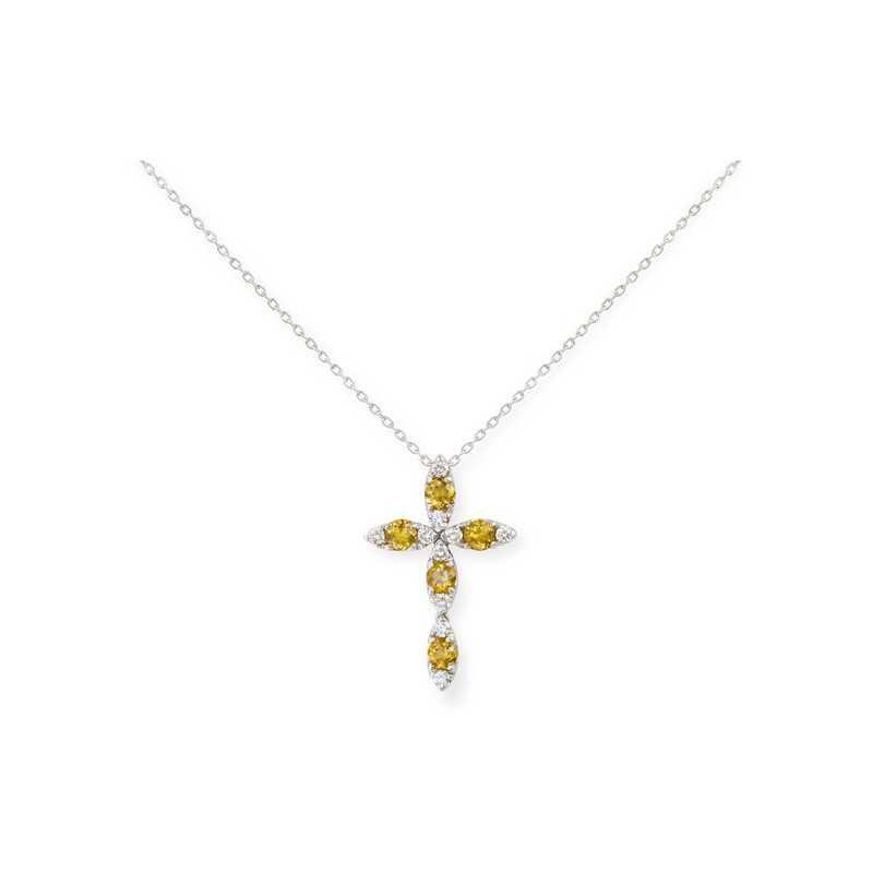 630786c5d396 Collar Cruz NICOL´S. Collar con colgante en forma de cruz católica de 28mm  de largo y 18mm ancho