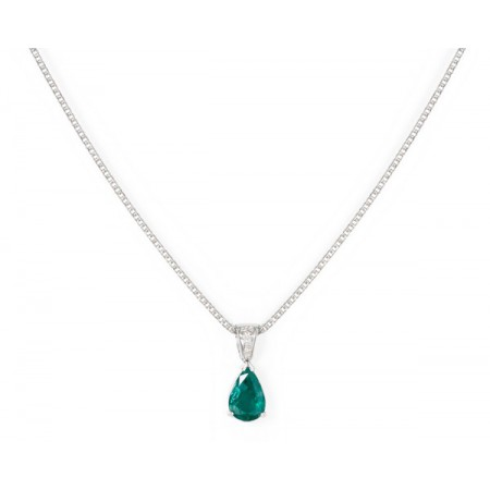 NICOL´S Collar Emerald Drop