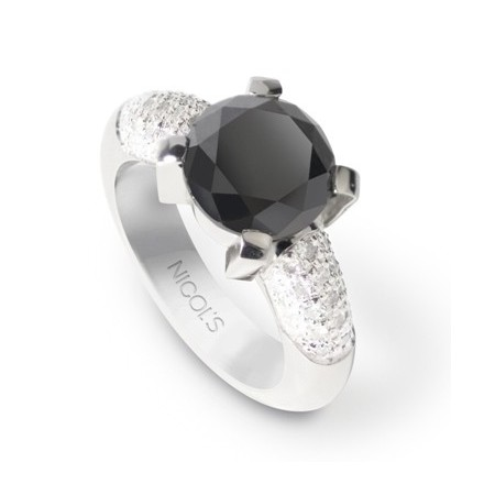 Anillo Diamantes BLACK POWER
