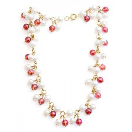 Collar Pearls Lady