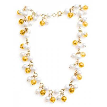 Collar Perlas Citrino Pearls Lady