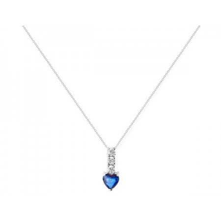 Collar de Diamantes y Zafiro SANGRE AZUL