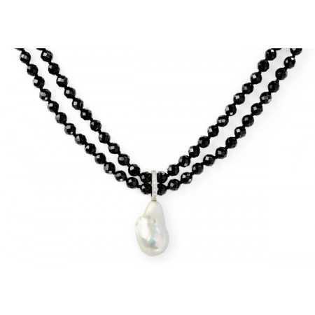 Collar Perlas Pearls Lady Doble