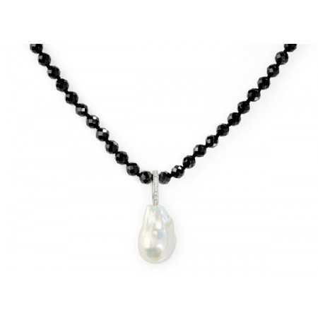 Collar Perlas Onix Pearls Lady