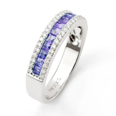 Anillo Zafiro DIAMOND COLOR