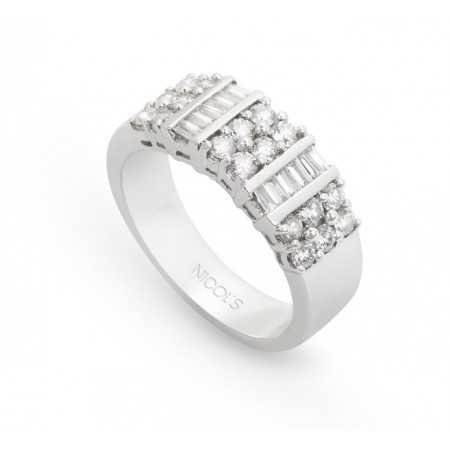 Anillo Diamantes LINES