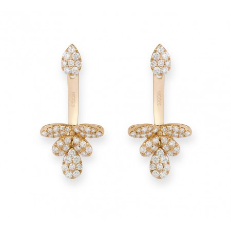 Pendientes de Diamantes EAR JACKETS