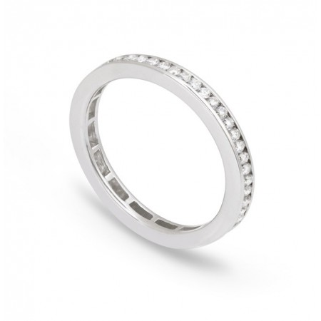 Anillo Diamantes Alianza DIAMOND CLASSIC