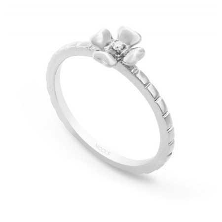Anillo de Diamantes Flor MIX & MATCH