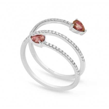 Anillo de Diamantes SPIRAL RINGS