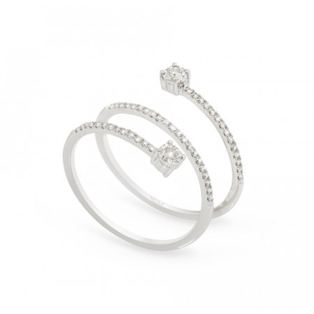 Anillo de Diamantes SPIRAL RINGS