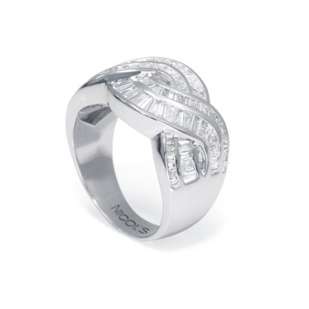Anillo diamantes DIAMOND BAGUETTE