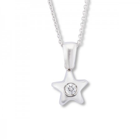 Colgante Diamante Estrella 0.08ct