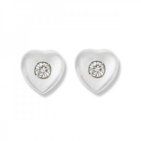 Pendientes Diamantes Corazón 0.16ct
