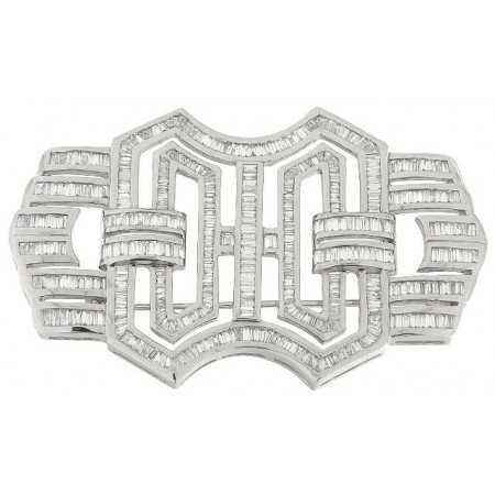 Broche Diamantes DIAMOND BAGUETTE