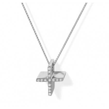Cruz Oro Diamantes CATHOLIC SIGN