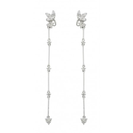 Pendientes de Diamantes FLOWER