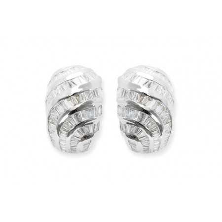 Pendientes Diamond Baguette