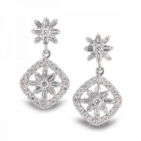 Pendientes de Diamantes SPRING TIME