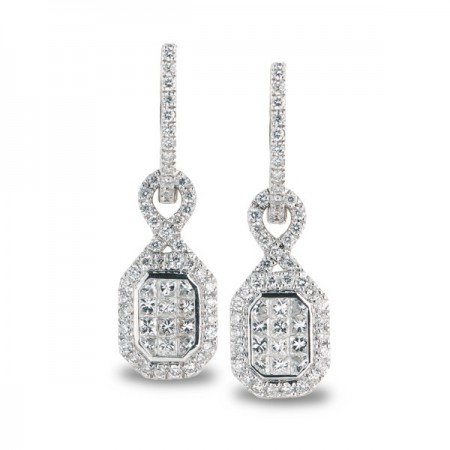 Pendientes de Diamantes SQUARE REMOVAL