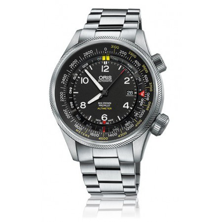 ORIS BIG CROWN PROPILOT ALTIMETER ESCALA EN METROS