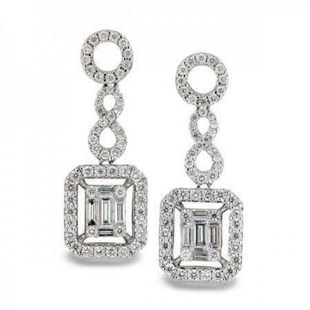 Pendientes de Diamantes ANNIVERSARY