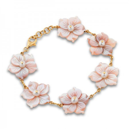 Pulsera Oro FLOWER POWER