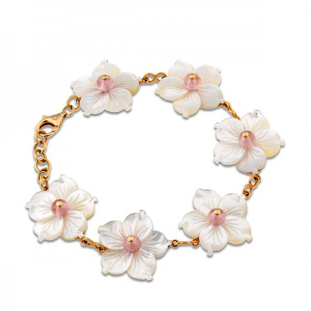 Pulsera de Oro FLOWER POWER