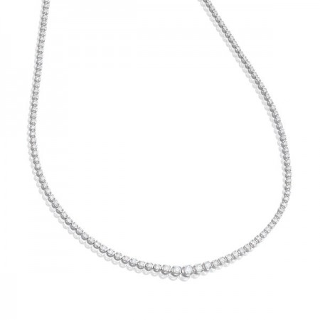 RIVIER DECREASE 3.00ct Diamond Necklace
