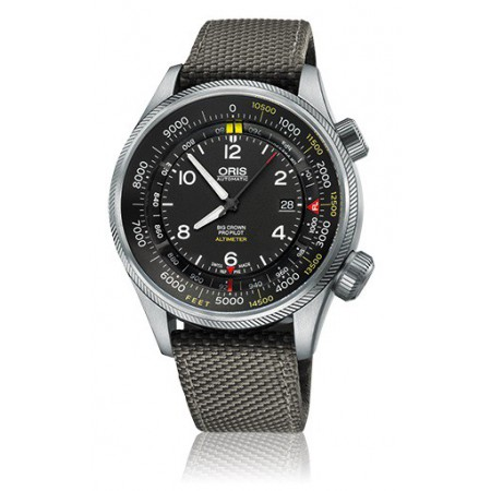 ORIS BIG CROWN PROPILOT ALTIMETER FEET