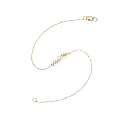 Pulsera Oro MOM MAMA MINI DETAILS