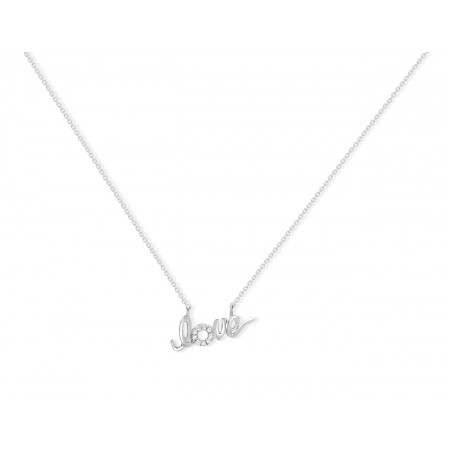 Collar de Diamantes LOVE MINI DETAILS