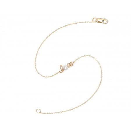 Pulsera de Diamantes LOVE MINI DETAILS