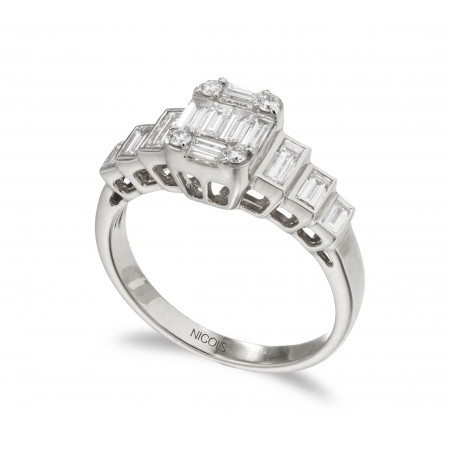 Anillo Diamantes ANIVERSARIO WEDDING BAND