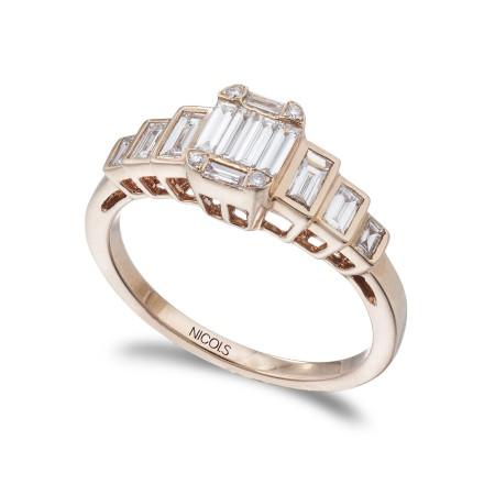 Anillo de Diamantes ANIVERSARIO WEDDING BAND