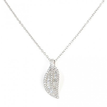 Collar Diamantes DIAMOND LEAF
