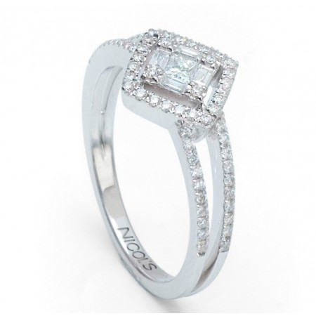 Anillo Diamantes DIAMOND CLASSIC