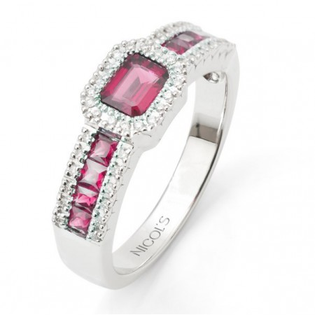 Anillo de Diamantes DIAMOND COLOR