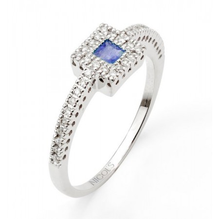 Anillo de Diamantes DIAMOND COLOR ORLA QUARE