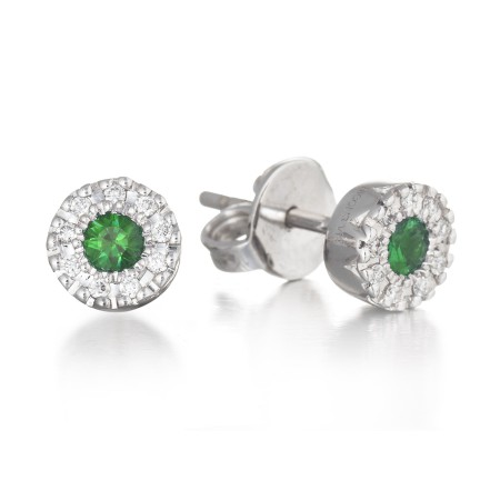 Pendientes diamantes dormilonas DIAMOND COLOR
