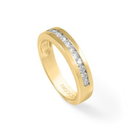 Anillo Diamantes Media Alianza Diamond Classic