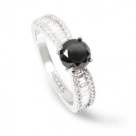 Anillo Diamond Classic + Black