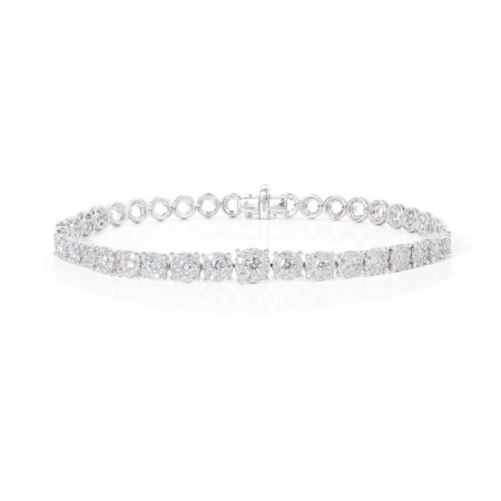 NICOL´S Pulsera Wedding Band Riviere Roseton
